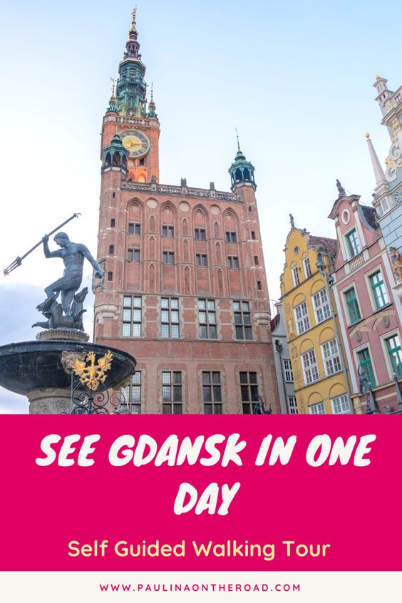 How To Do A Free Self Guided Walking Tour Of Gdansk Poland Paulina On The Road Gdansk Poland Traveling By Yourself Walking Tour