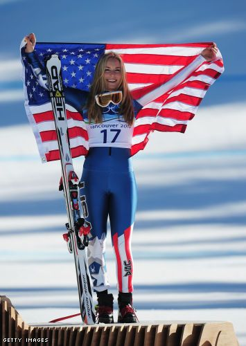 Lindsey Vonn is truly my biggest inspirations.