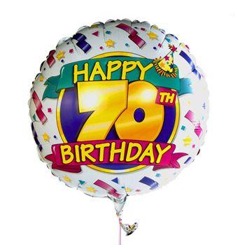 70th Birthday Birthdays And Happy On Pinterest