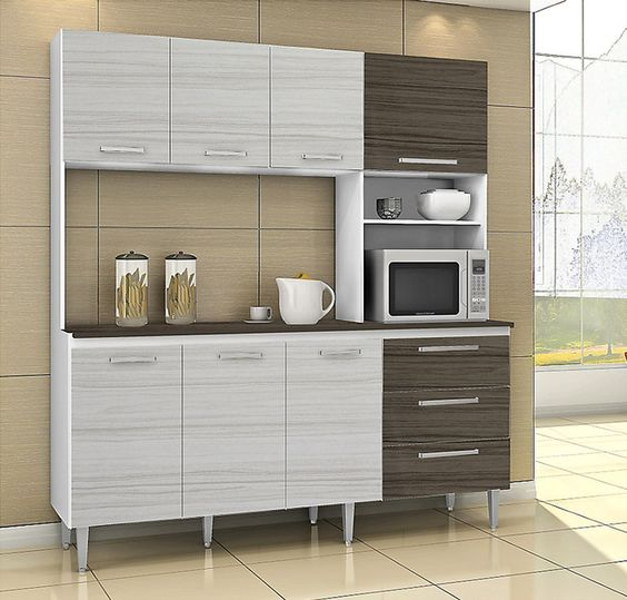 Parana kit mueble cocina lucce 7 puertas products and for Mueble cocina sodimac