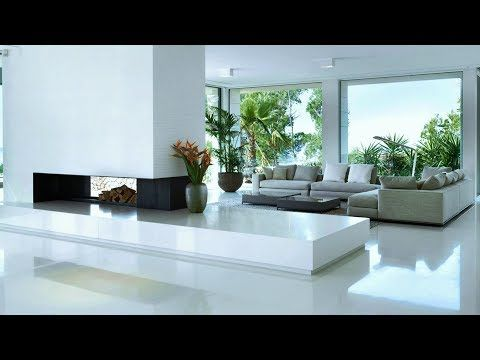 Beautiful White Home Interiors Modern Design Ideas Youtube In 2020 Modern Houses Interior Beautiful Interiors Modern Modern Home Interior Design