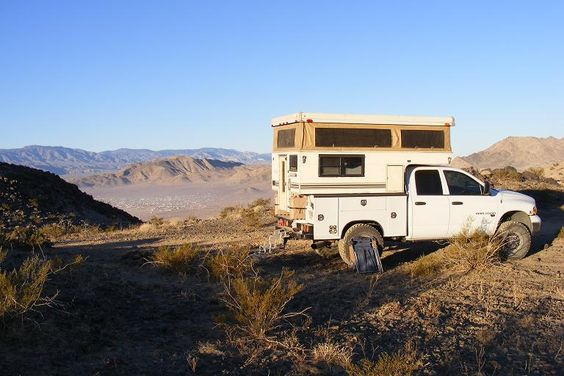 slide in camper on a utility bed - Pirate4x4.Com : 4x4 and Off-Road Forum