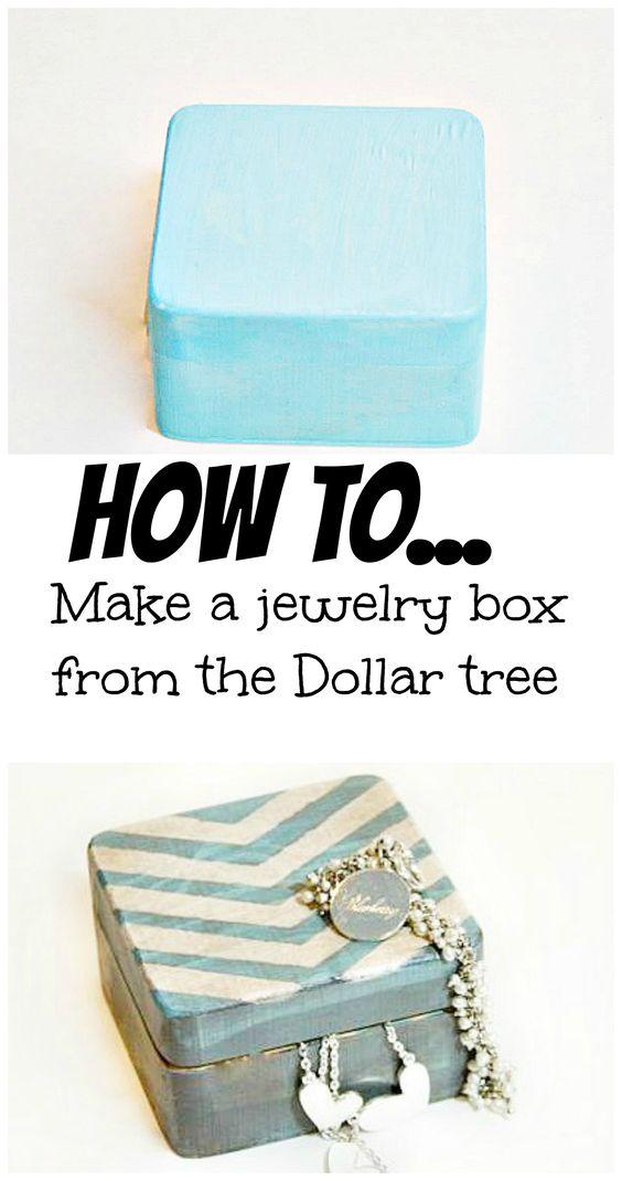 A Dollar Tree Arrow Jewelry Box Debbiedoos Arrow Jewelry Dollar Stores Tree Jewelry Organizer