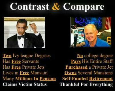 Big difference. One Socialist, On Conservative
