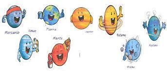 Resultado de imagen para actividades sistema solar para niños primaria