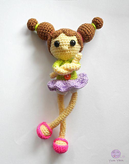 Tulip pattern by Deena Thomson-Menard #knitteddollpatterns Ravelry: Tulip  pattern by Deena Thomson-M… | Knitted doll patterns, Knitting patterns  toys, Knitted dolls | 640x505