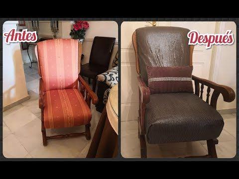 youtube tapizar una silla