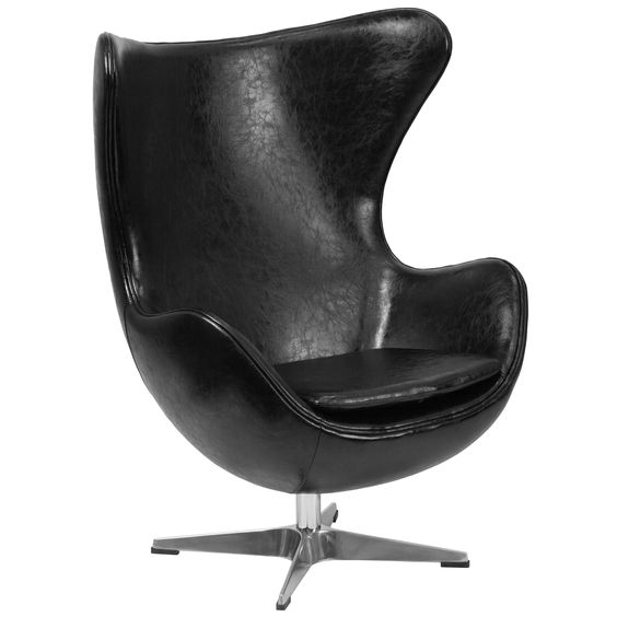 This retro style chair will become everyone's favorite chair whether it is used in the home or office. The Egg Chair can be used in the home, but will add a distinguished look to your office or lobby ...