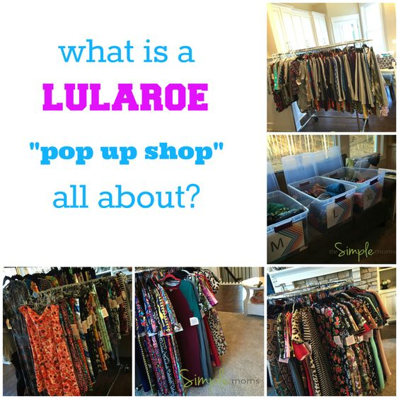 Pop Up Shopping Mondays: What Is A LuLaRoe Pop Up Shop Featured Image