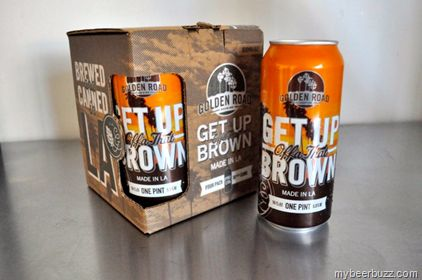 Golden Road - Latest Can Release: Get Up Offa That Brown