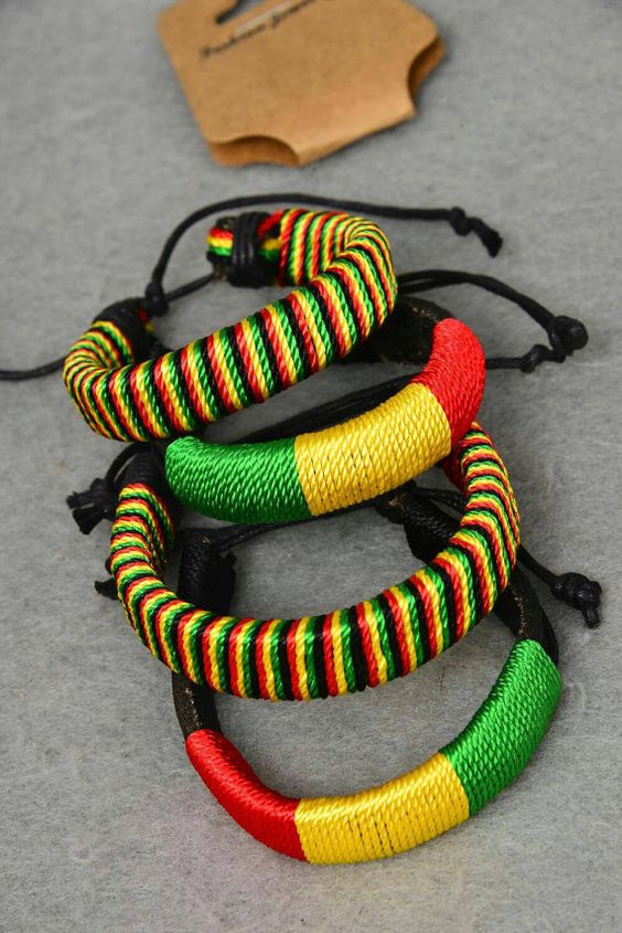 Check out this item in my Etsy shop https://www.etsy.com/listing/260610230/multiple-color-african-bracelet