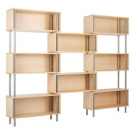 8 Box Shelf in Maple