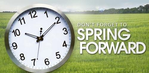 Dealing with Daylight Savings- Get ready to SPRING forward