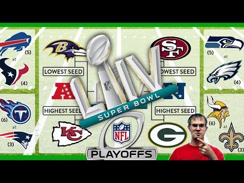 2019 2020 Nfl Playoff Predictions And Reaction To Preseason Predictions Youtube Nfl Playoffs Nfl Playoffs