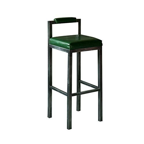 Gsej Barstools Simple Counter Chair Modern High Chair Comfortable Leather Mat Floor Protector Suitabl Retro Bar Stools Bar Stools Bar Stool Chairs