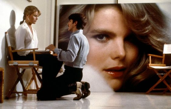Mariel Hemingway as Dorothy Stratten and Eric Roberts as Paul Snider, Star 80, 1983.