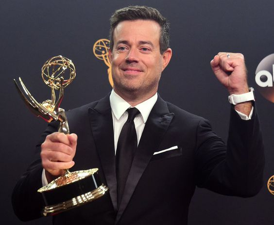 Carson Daly accepting his Emmy ~ Today