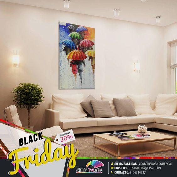 El arte se toma #BlackFriday grandes obras a tu medida. #ArteYa
