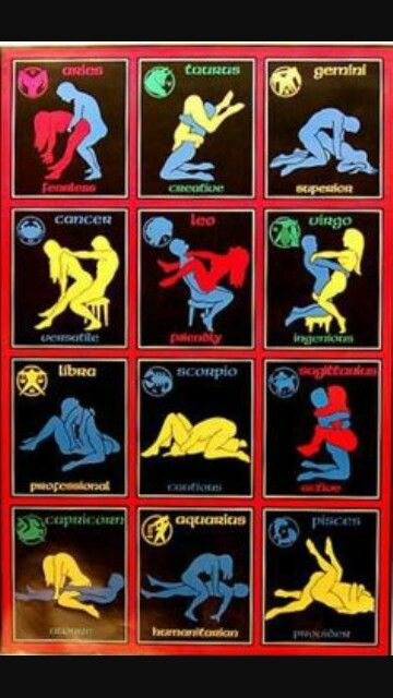 Zodiac Sign Sex Position 73