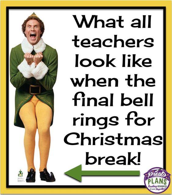 winter break teacher memes