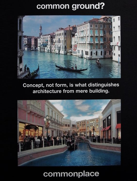 bernard tschumi: ads for architecture 2012 at venice biennale