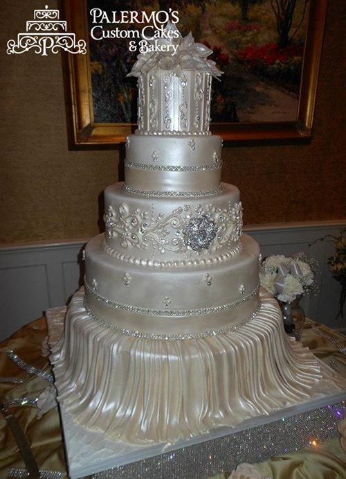 12 Best Palermo Wedding Cake Images On Pinterest Bakery Elegant Cakes And Pretty
