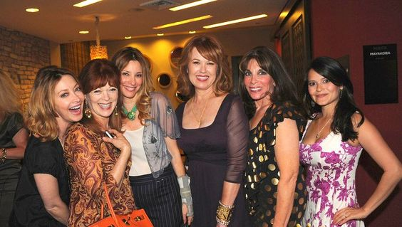 Sharon Lawrence, Frances Fisher, Kimberly Rubin, Lee Purcell, Kate Linder and Romi Dames at the #California #Women's Conference Kick Off on Aug 2, 2012 at Hotel Maya in Long Beach