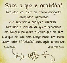 #Gratidão