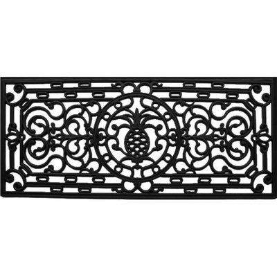 Darby Home Co Sinderen Non Slip Outdoor Door Mat Rubber Door Mat Front Door Mats Home Decor Shops