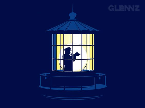 Lonely Lighthouse Keeper