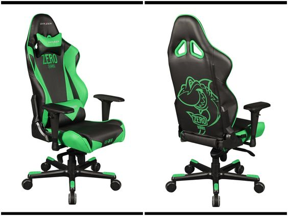 Racing Chair Black And Green Color Racing Razer Race