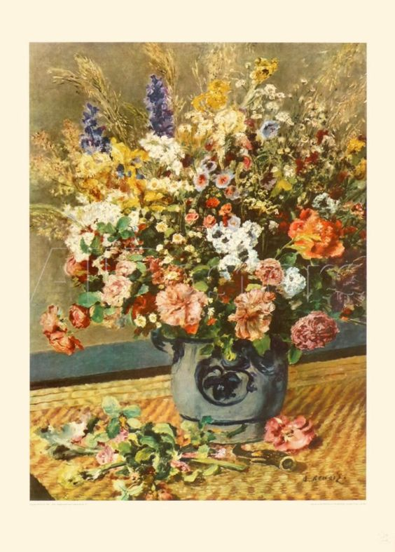 A Country Bunch Collectable Print by Pierre-Auguste Renoir at AllPosters.com