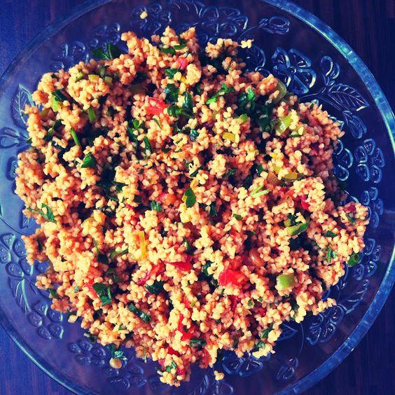Kısır/ Couscous Salat Rezept - MerSel