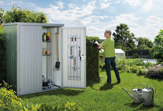 Gartenschrank & Geräteschrank aus Metall - Biohort