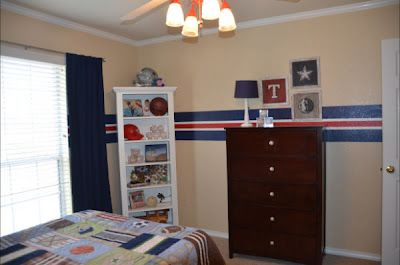 Boys sports bedroom