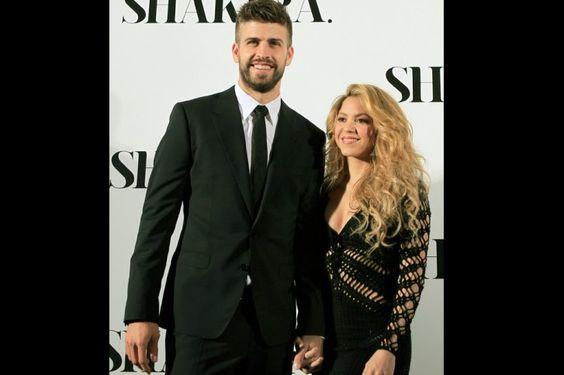 Shakira & Piqué en la presentación del álbum SHAKIRA.