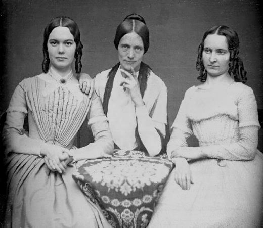Mother and daughters.