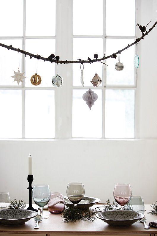 housedoctor dekorationsidee weihnachtskugeln