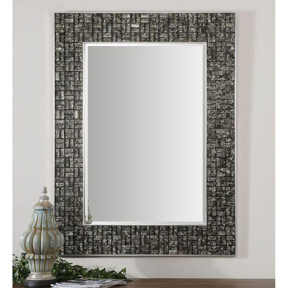 Uttermost Allaro Mosaic Mirror 14538