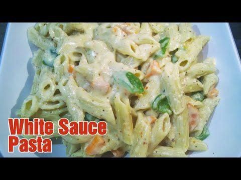 Homemade Pasta Recipe Pasta In White Sauce Creamy Cheesy White Sau In 2020 Homemade Pasta Recipe White Sauce Pasta Homemade Pasta