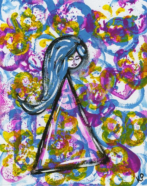 Kali Parsons...finding bliss...one creation at a time: Like a Little Girl
