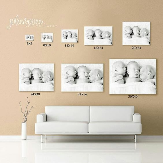 Picture Sizes Canvas Size Wall Art For The Home