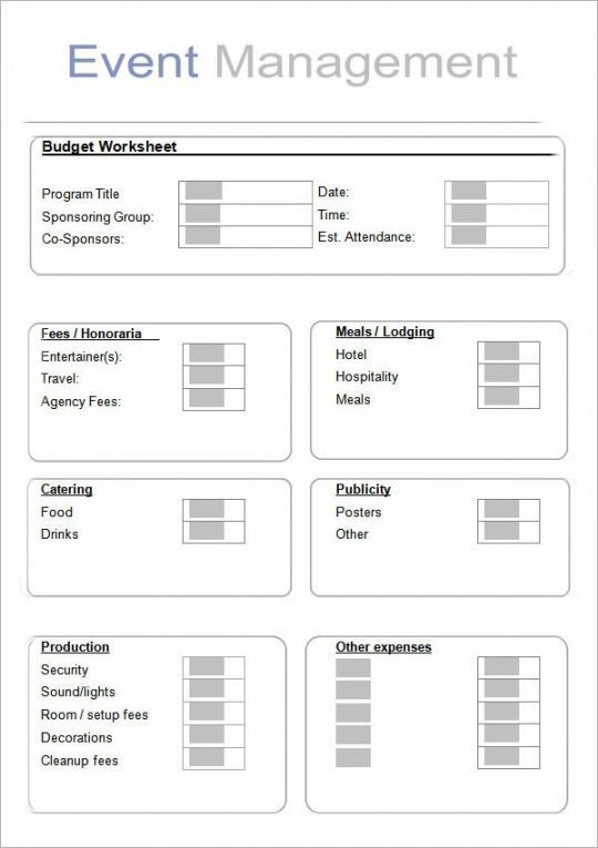 Event Management Project Plan Template In 2021 Event Planning Worksheet Corporate Event Planning Event Planning Portfolio