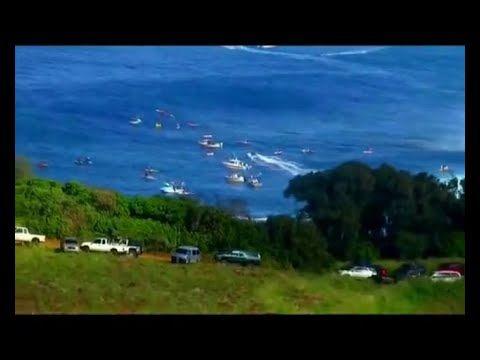 التزحلق على الامواج و اروع مناظر للبحر موسيقى ساحرة مناظر طبيعية خلابة World Field Enjoyment