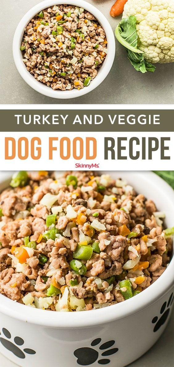 Turkey Veggie Dog Food Recipe Dog Food Recipes Veggie Dogs