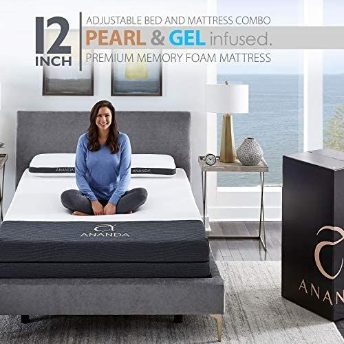The Ananda Sleep System Consists Of A Mattress And Adjustable Bed