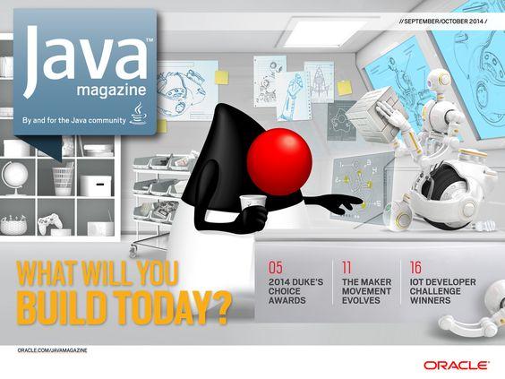 Java Magazine - September/October 2014 - Front Cover