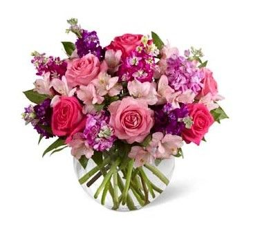 Your Valentine will love and adore this soft and gorgeous fragrant bouquet.