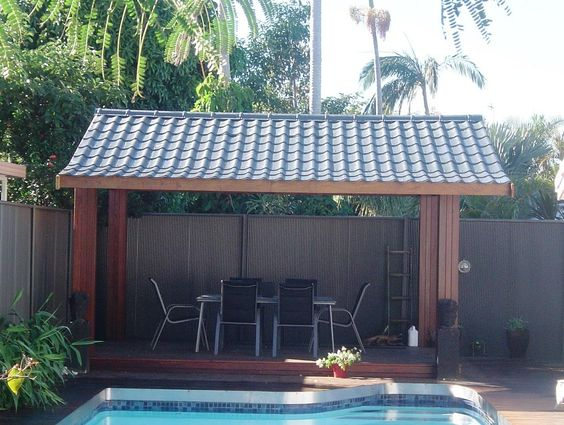 Do It Yourself Gazebo Metal Tile Roofing Sheets How To
