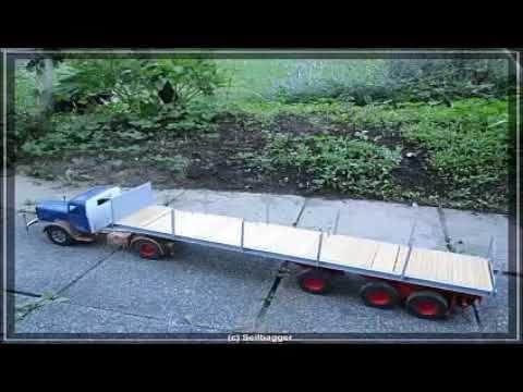Truk Trailer Angkut Komponen Krane Mobil Mainan Anak Mobil Mainan Anak Trailer Make It Yourself
